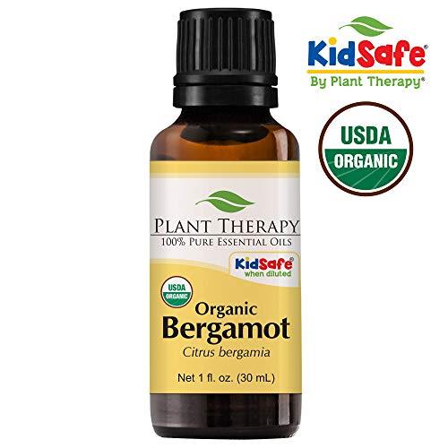 Bergamote Huile essentielle bio. 30 ml (3,3 oz). 100% pur, non dilué.