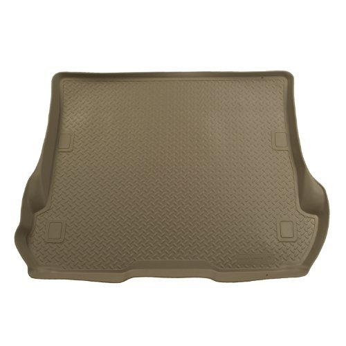 husky-liners-custom-fit-molded-rear-cargo-liner-for-select-nissan-pathfinder-models-tan-by-husky-lin