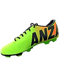 Anza Men's Neon Synthetic Sports Shoes