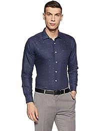 Amazon Brand - Symbol Men's Formal Shirt