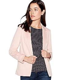 08692d5f96a0 Principles Petite Womens Pink Ponte Petite Blazer
