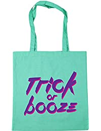 25df38a68 HippoWarehouse Trick or booze halloween Bolso de Playa Bolsa Compra Con Asas  para gimnasio 42cm x