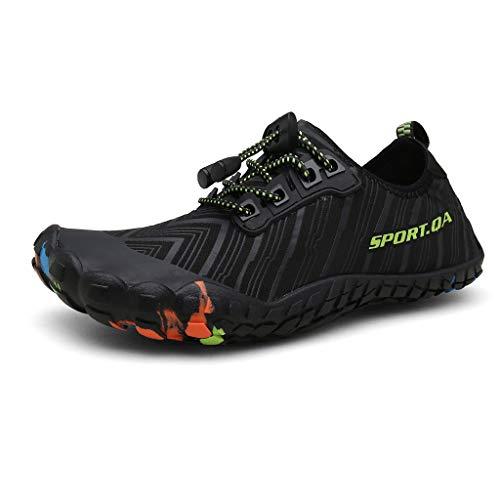 YEARNLY Herren Fitness Laufschuhe Atmungsaktiv Rutschfeste Mode Sneaker Sportschuhe