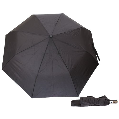 Mens Automatic Opening Walking Umbrella (See Description) (Black)