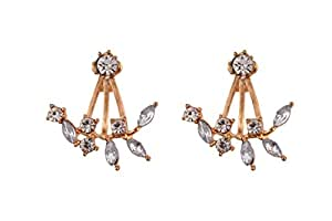 Gorigama Trendy fashionable earrings for girls best fancy party wear earrings crystal earrings for girls
