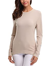 9e5e69c99b712c Abollria Womens Turtle Neck Long Sleeve Chunky Knit Ribbed Sweater Jumper  Knitwear Top