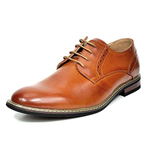 Bruno Marc Prince-16 Zapatos Cordones Hombre Marrón