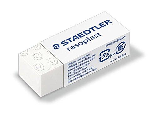 Staedtler Gomme en plastique Rasoplast 526 B30, blanc