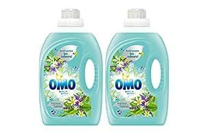 Omo Lessive Liquide Aux Extraits De 5 Plantes 3l 40 Lavages - Lot de 2