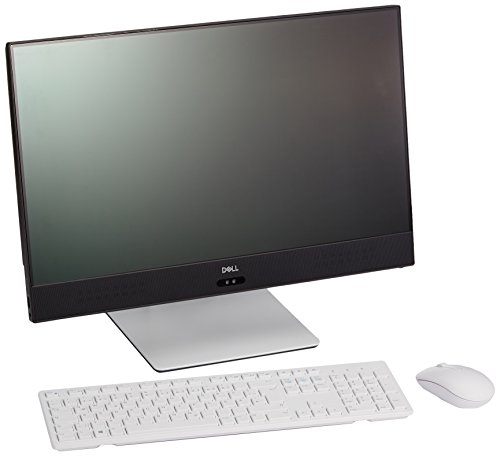 Dell 5475-1691 Inspiron 60,4 cm (23,8 Zoll) All-in-One Desktop PC (AMD A10-9700E, 1000GB Festplatte, 8GB RAM, AMD Radeon R7 Grafik (Shared RAM), Win 10 Home) schwarz/silber (Dell In Einem Computer)