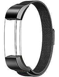 Fitbit Alta Armband Sport, Swees Edelstahl Uhrenarmband Mail?nder Magnetschleife Edelstahlband Ersatz Armband F¨¹r Fitbit Alta