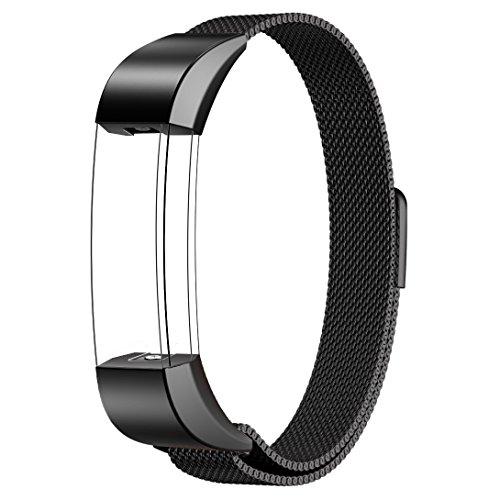 fitbit-alta-armband-sport-swees-edelstahl-uhrenarmband-mailander-magnetschleife-edelstahlband-ersatz