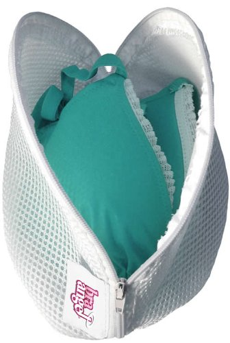 Caraselle Large Lingerie Zipped Bra Net Wash Bag 26 x 18 x 14cms, for Bra sizes DD up to GG