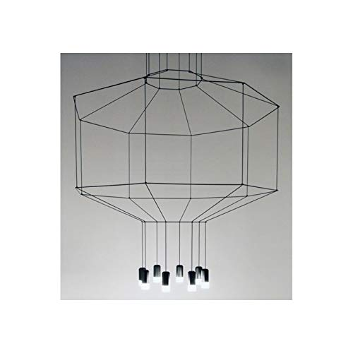 Vibia – Lampe à suspension Vibia wireflow 0302 – Noir