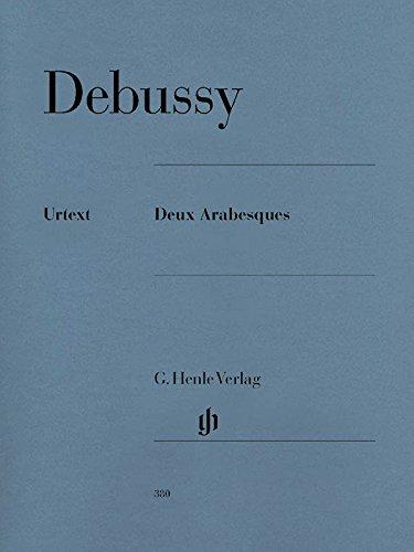 2 Arabesques por Debussy Claude