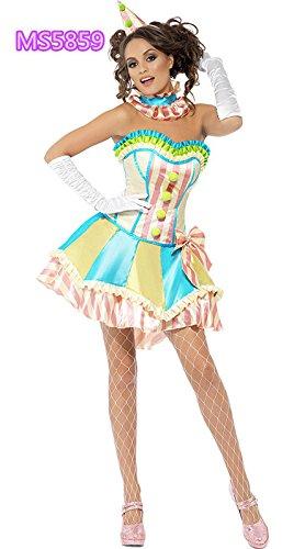 DLucc Halloween-Kostüme Rollenspiele Zirkus-Clown Kostüme Maskerade Kostümen , #1