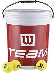 Wilson Team W Trainer / T1311B Balles de tennis d'entraînement Jaune