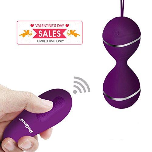 BEQOOL Liebeskugeln mit Vibration Bullet-Vibratoren drahtlose Fernbedienung Adult Sexspielzeug Vibrator