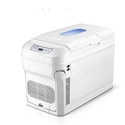 YKKHHCD Mini-Kühlschrank, Hybrid Tragbare Kühlschrank Semiconductor Elektronische Refrigera tionlo 35L Kapazität Low Noise -