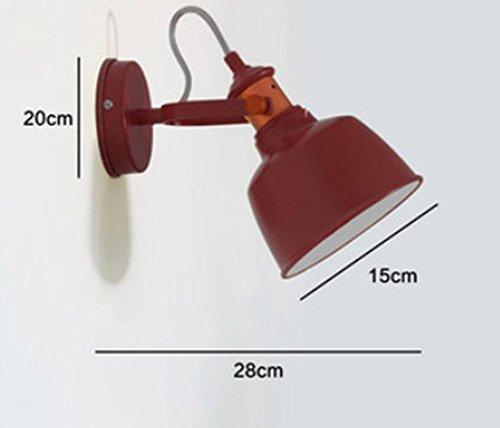FWEF Lampada Da Parete Regolabile Ferro Scandinavo Moderno Semplice Camera Da Letto Della Lampada Lampada Da Comodino Soggiorno Personalità Lampada Da Parete Di Arte Di Illuminazione .