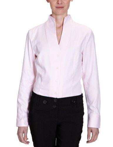 Jacques Britt Damen Businessbluse, Rosa (42-rosé), 46 (L) Preisvergleich