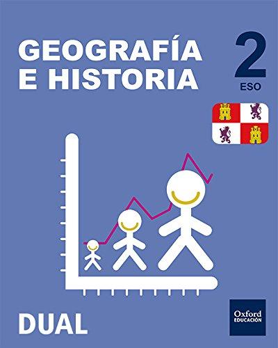 Inicia dual geografía e historia libro del alumno castilla y león - 2º eso