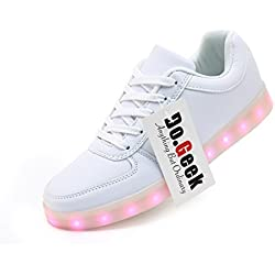 DoGeek Zapatos Led