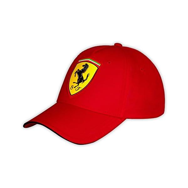 Gorra carbono roja oficial de la Scuderia Ferrari de Formula 1 cca581d0a0b