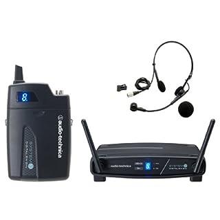 Audiotechnica heddoommaikurohonwaiyaresushisutemu ATW-1101/H Japan used like new