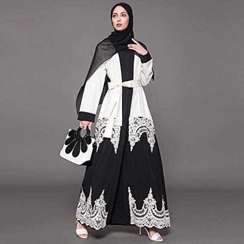 Mitlfuny Indian Muslim Islamic Arab Abaya Jilbab Middle Eastern Ramadan,Elegante moslemische Abaya-Kleidwolljacke-Robe-türkische islamische Gebets-Kleidung Hijab