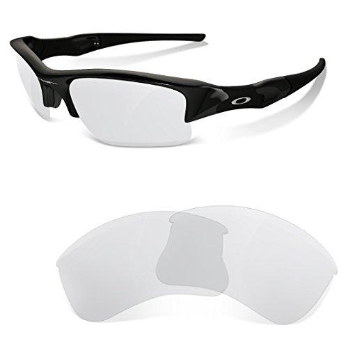 sunglasses restorer Ersatzgläser Clear für Oakley Flak Jacket XLJ