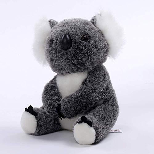 Suave Lindo Juguete De Peluche Mini Koala Muñeca Shaggy Peluche Animales Regalo,Black,30Cm
