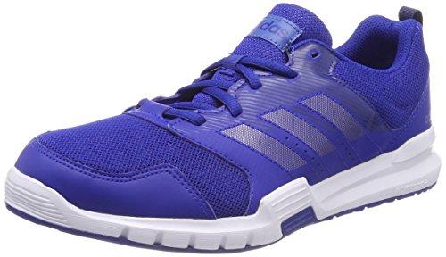Adidas essential star 3 m, scarpe da fitness uomo, blu (croyal/ngtmet/traroy), 41 1/3 eu