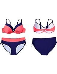 AMYMGLL Mme bikini maillot de bain deux ensembles de vêtements était mince sexy grande élasticité élevée de l'environnement