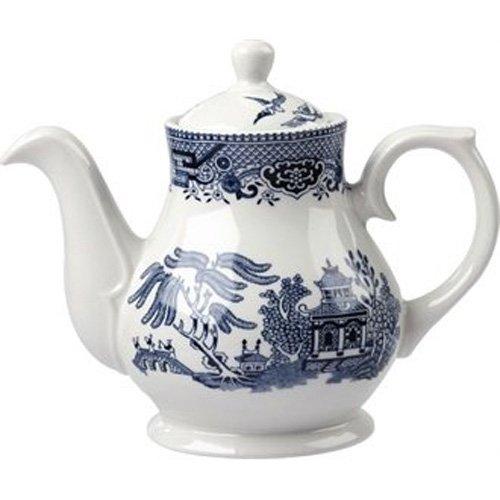 Churchill Super Verglastes GL476Vintage Prints Sandringham Tee und Kaffee Töpfe, 420ml (4Stück) (420 Tee)