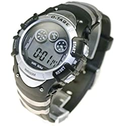 Classy Silver Sports Watch in Gift Box- Perfect Gift For Him OR Her of all ages!