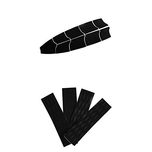 MagiDeal Surfboard Traction Pads Longboard Full Deck Grips Pads - Wellenreiten SUP Surfboard Deck Grip Footpad