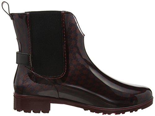TOM TAILOR Damen 1692301 Chelsea Boots Rot (Bordo)