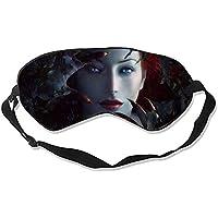 Schlafmaske, Fantasy Frauen Seide, leicht, atmungsaktiv, bequem, weich, mit verstellbaren Kopfgurten für Frauen preisvergleich bei billige-tabletten.eu