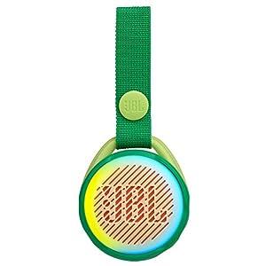 JBL JR POP – Portable Wireless Speaker with Light Feature for Kids – Fun speaker for little music fans – Green