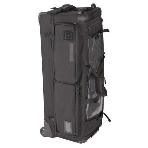 5.11# 50159Cams 2.0Rolling Duffle Bag, unisex, schwarz (Duffle Trolley Rolling)