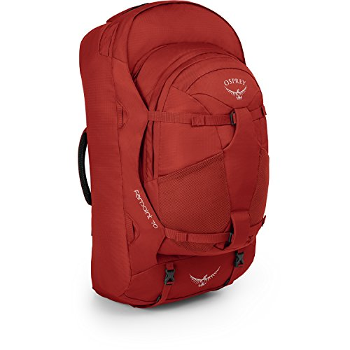 Osprey - Farpoint 70, color jasper red, talla 70 Liters-M/L