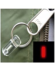 Firefly Bivvy Small Tritium Glowring One Size Red
