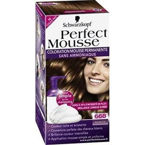 Perfect mousse coloration n°668 noisette- (for multi-item order extra postage cost will be reimbursed)