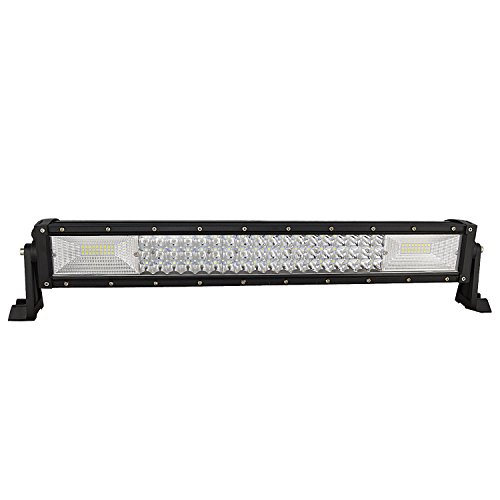 auxtings 55,9 cm 7D 324 W LED Light Bar Spot Flood tri-row gerade fahren Lichter