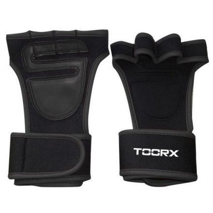 Toorx - Coppia GRIP PAD con polsiera taglia L/XL