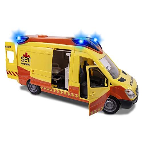 Ambulancia SEM 34cm luz sonido Dickie 1166002