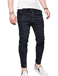 154ceb9fc1 Amazon.es  pantalon vaquero cintura elastica hombre  Ropa