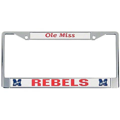 NCAA Ole Miss Rebels Chrome Plate