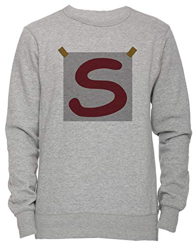 (Erido Super Craig Unisex Herren Damen Jumper Sweatshirt Pullover Grau Größe XL Men's Women's Sweatshirt Grey X-Large Size XL)